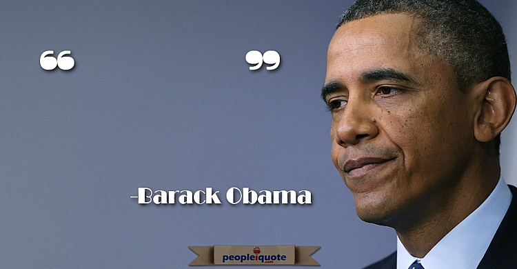 Barack Obama famous quote